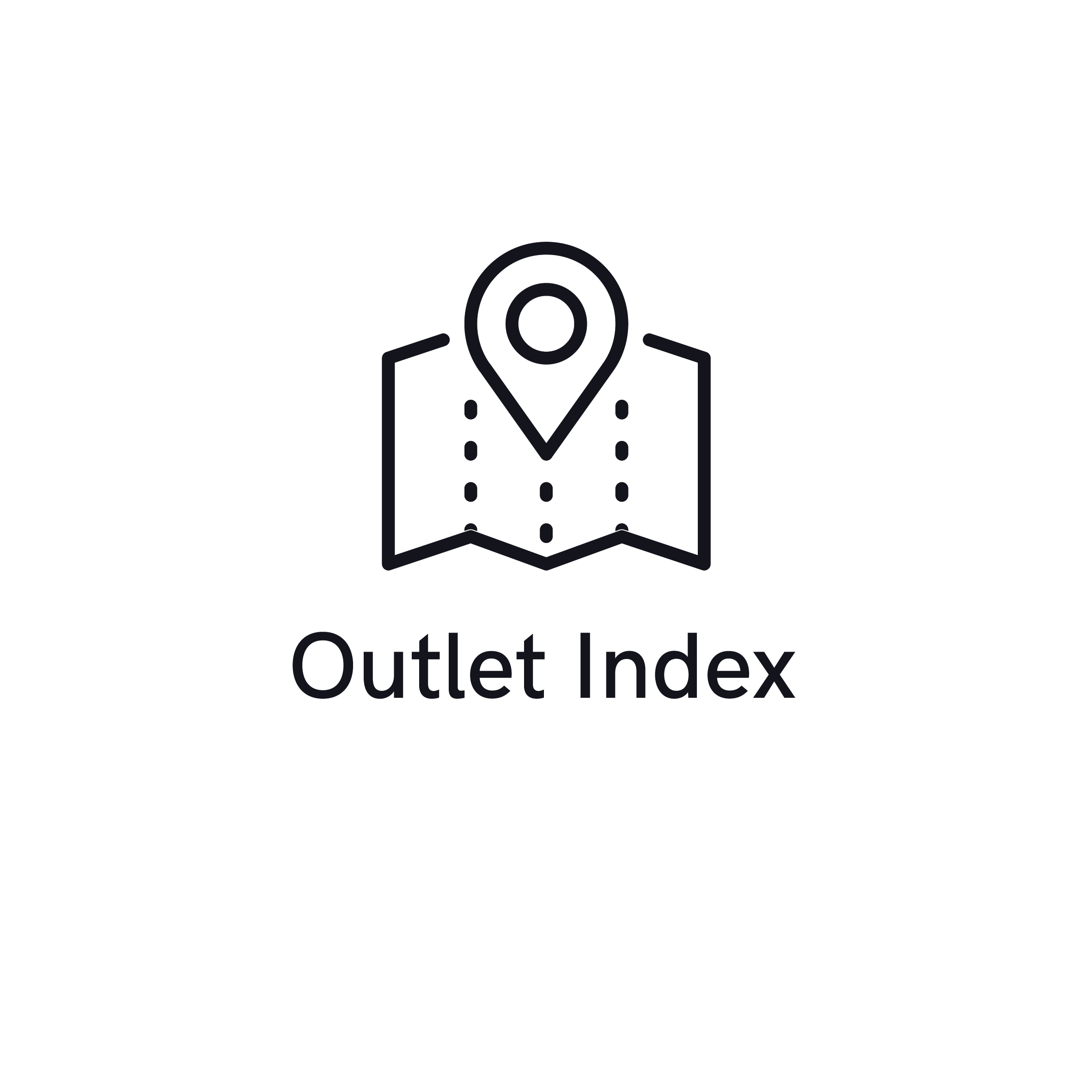 Outlet Index Blue