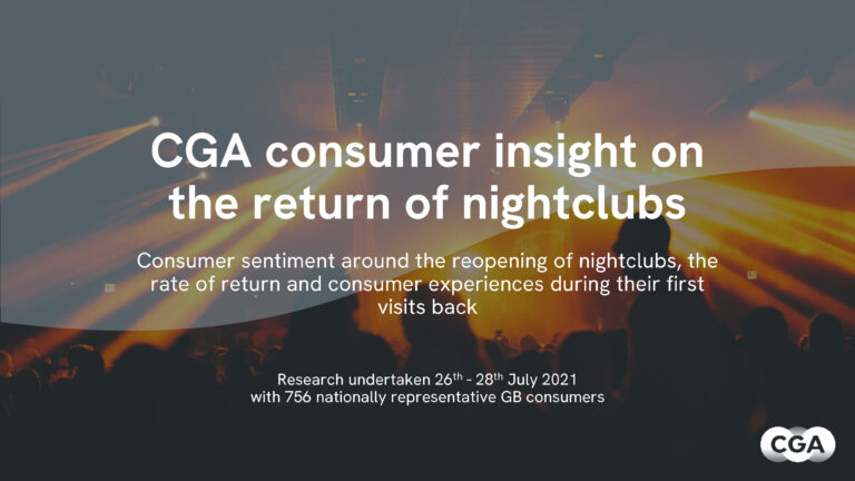 Consumer Insight - Nightclubs reopening
